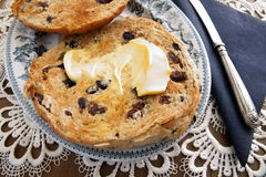 Toasted Teacakes Stock Images