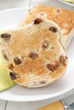 Toasted Teacakes Royalty Free Stock Photography