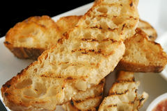 Toasted Turkish Bread royalty free stock photos