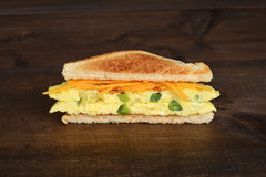 Toasted western sandwich Royalty Free Stock Photography