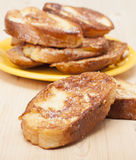 Toasted white bread Royalty Free Stock Image
