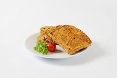 Toasted whole grain bread Stock Photo