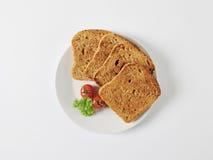 Toasted whole grain bread Stock Image