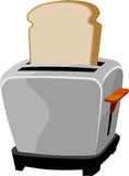 Toaster. Clipart  drawing line art Royalty Free Stock Photography