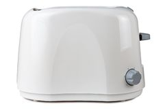 Toaster. Which is isolated on white Royalty Free Stock Image