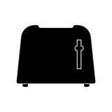 Toaster black color icon . Stock Photo
