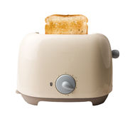 Toaster and The Bread Stock Photos