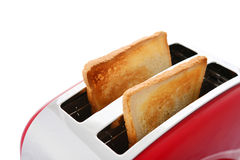 Toaster with bread Stock Images