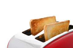 Toaster with bread Royalty Free Stock Photos