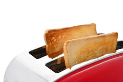 Toaster with bread Stock Photos