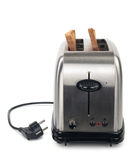 Toaster with bread Royalty Free Stock Image