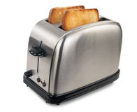 Toaster with bread Royalty Free Stock Images