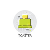 Toaster Cooking Utensils Kitchen Equipment Appliances Icon Royalty Free Stock Image