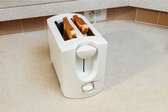 Toaster on Counter Royalty Free Stock Image