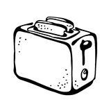 Toaster drawing Stock Photography