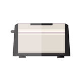 Toaster, flat style. Toaster icon,  illustration in flat style Royalty Free Stock Image