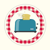Toaster  icon Stock Images