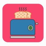 A toaster icon Royalty Free Stock Photos