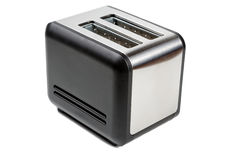 Toaster isolated on white Royalty Free Stock Photography