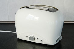 Toaster. In kitchen at home Stock Image