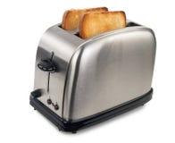 Toaster mit Brot Lizenzfreie Stockbilder
