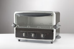 Toaster-Oven. On a neutral background Stock Image