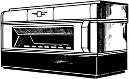 Toaster Oven Stock Image
