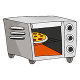Toaster Oven. An image of a toaster oven Royalty Free Stock Photography