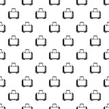 Toaster pattern, simple style Royalty Free Stock Image