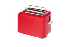 Toaster of red colour Stock Images
