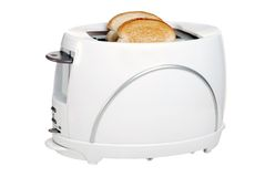 Toaster with toast Stock Photography