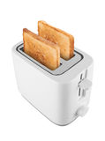Toaster with toast Royalty Free Stock Image