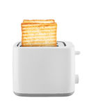 Toaster with toast Stock Image