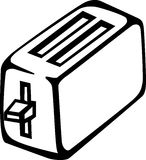 Toaster vector illustration Stock Images