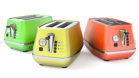 Toasters 3d Royalty Free Stock Photos
