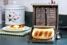 toastertappningworking Royaltyfri Fotografi