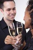 toasting влюбленности Стоковое Фото