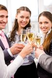 Toasting Royalty Free Stock Image