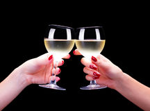 Toasting Royalty Free Stock Photography