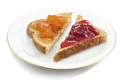 Toasts royalty free stock photography