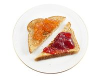 Toasts stock images