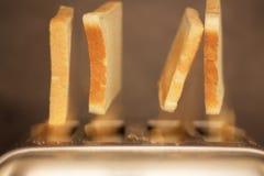 toasts Arkivfoton