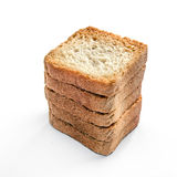 Toasts isolated Royalty Free Stock Photo