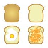 Toasts set Stock Image