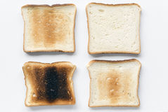 Toasts variation Stock Photography