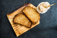 Toasts from Wholewheat Bread Stock Images