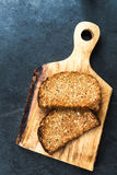 Toasts from Wholewheat Bread Royalty Free Stock Photos