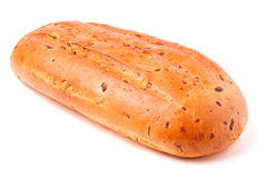 Toasty Organic Loaf of French Bread Royalty Free Stock Photography
