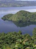 Toba λίμνη Στοκ Φωτογραφία