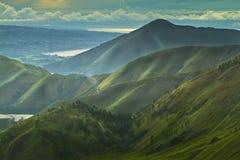 Toba Hill. Landscape and hill at Toba Lake , north Sumatra indonesia Royalty Free Stock Photo